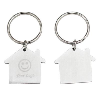 House Shape Opener Key Ring  (JK012_JS)
