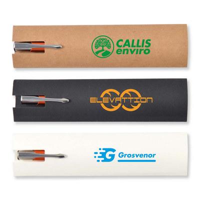 Cardboard Pen Sleeve (LL0512_LLPRINT)