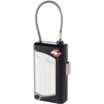 Luggage Tag & Lock (1304BK_RNG_DEC)