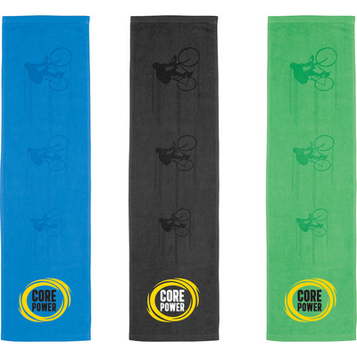 Silhouette In Action Sports Towel (2090BL_RNG_DEC)