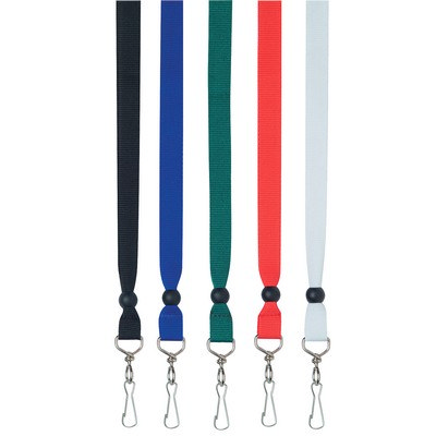 Ribbon Lanyard - (printed with 1 colour(s)) - (2450RD_RNG_DEC)