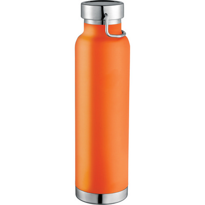 Thor Copper Vacuum Insulated Bottle - Orange (4075OR_RNG_DEC)