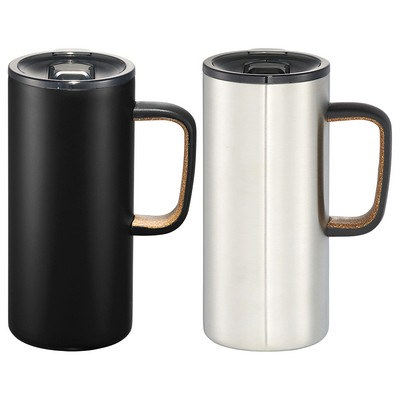 Valhalla Copper Vacuum Mug - Black (4076BK_RNG_DEC)