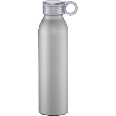 Grom Aluminum Sports Bottle - Silver (4081SL_RNG_DEC)