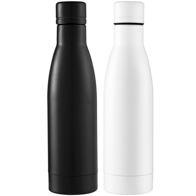 Vasa Copper Vacuum Insulated Bottle - Black (4085BK_RNG_DEC)