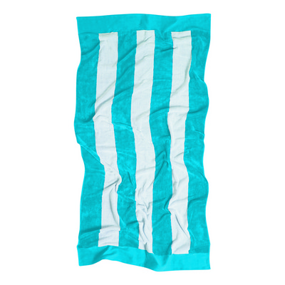 Beach Towel - Cyan - (printed with 1 colour(s)) - (4245PBL_RNG_DEC)