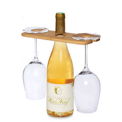 Wine Bottle Glass Carrier (4282_RNG_DEC)