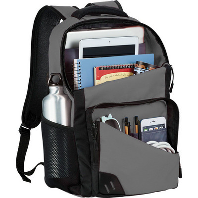 Rush 15 inch Computer Backpack (5043GY_RNG_DEC)