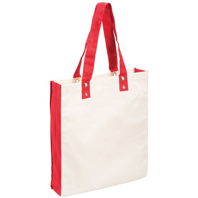 Cotton Canvas Tote (5046RD_RNG_DEC)