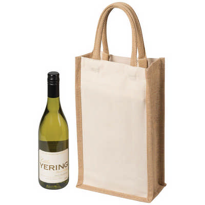 Two Bottle Canvas Wine Carrier (5048_RNG_DEC)