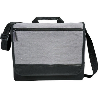 Faded Tablet Messenger Bag (5052_RNG_DEC)