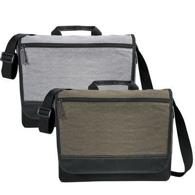 Faded Tablet Messenger Bag (5052_RNG_DEC)