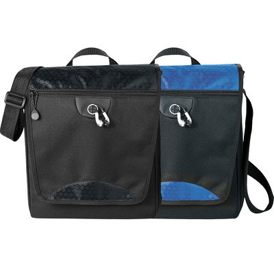 Hive Tablet Messenger Bag (5053BK_RNG_DEC)