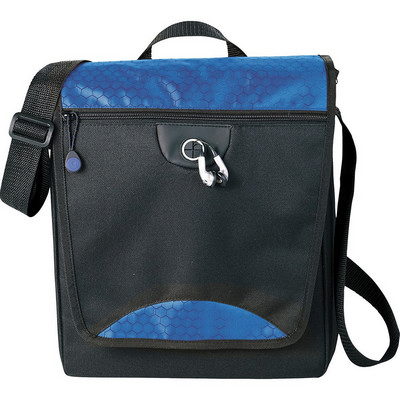Hive Tablet Messenger Bag - (printed with 1 colour(s)) - (5053BL_RNG_DEC)
