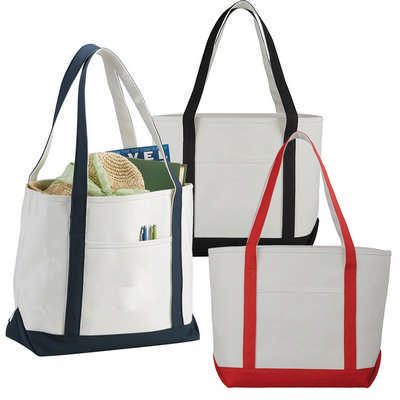Premium Heavy Weight Cotton Boat Tote (5064_RNG_DEC)