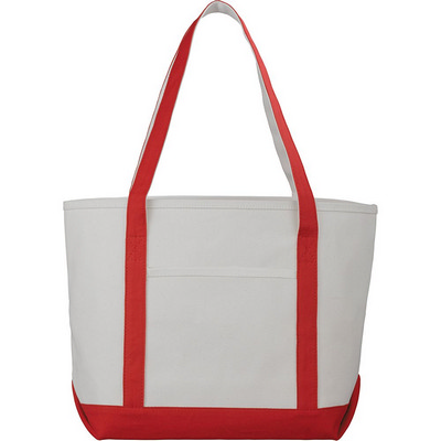 Premium Heavy Weight Cotton Boat Tote - (printed with 1 colour(s)) - (5064RD_RNG_DEC)