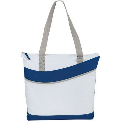 Upswing Zippered Convention Tote (5065BL_RNG_DEC)