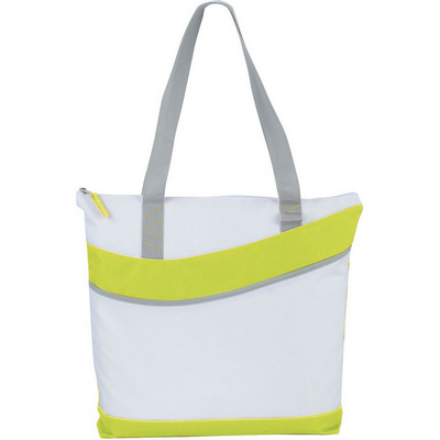 Upswing Zippered Convention Tote (5065GN_RNG_DEC)