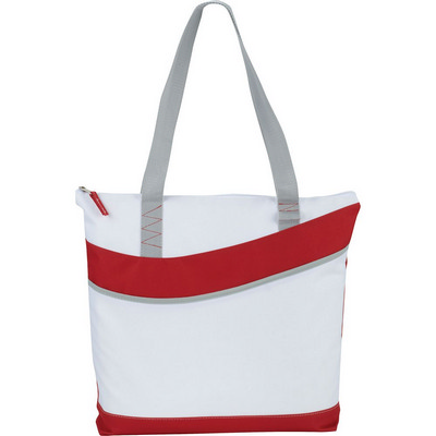 Upswing Zippered Convention Tote (5065RD_RNG_DEC)