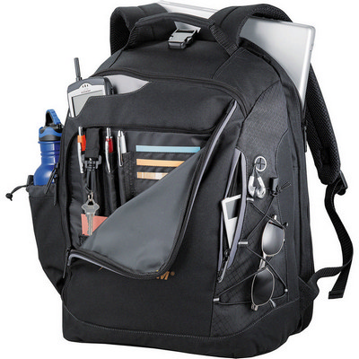 Summit TSA 15 inch Computer Backpack - Black (5161BK_RNG_DEC)