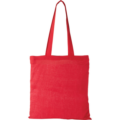Carolina Cotton Canvas Convention Tote - Red (5167RD_RNG_DEC)