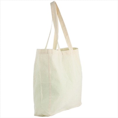 Natural Cotton Shopper Tote (5177_RNG_DEC)