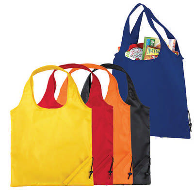 Bungalow Foldaway Shopper Tote (5178_RNG_DEC)