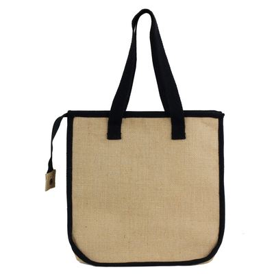 Laminated Jute Shopper with Insulation (5181_RNG_DEC)