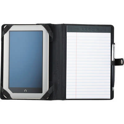 Pedova ETech Jr. Padfolio with Snap Closure (9139BK_RNG_DEC)