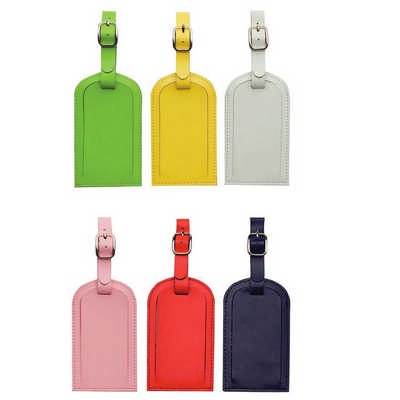 Coloured Luggage Tag (9161RD_RNG_DEC)