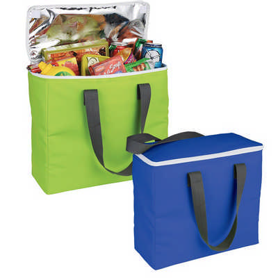 Arctic Zone  Foldable Insulated Shopping Tote (AZ1008_RNG_DEC)