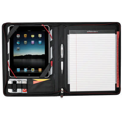 Elleven Large Zippered Padfolio (EL001_RNG_DEC)