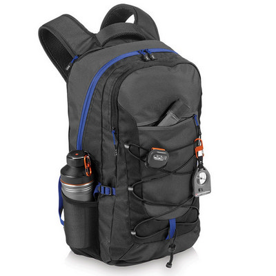 Elevate Milton 15.4 inch Laptop Outdoor Backpack (EV1007BK_RNG_DEC)