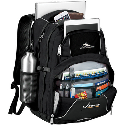 High Sierra Swerve 17 inch Computer Backpack (HS1001BK_RNG_DEC)