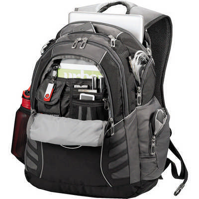 High Sierra Swerve Big Wig 17 in Computer Backpack (HS1002BK_RNG_DEC)