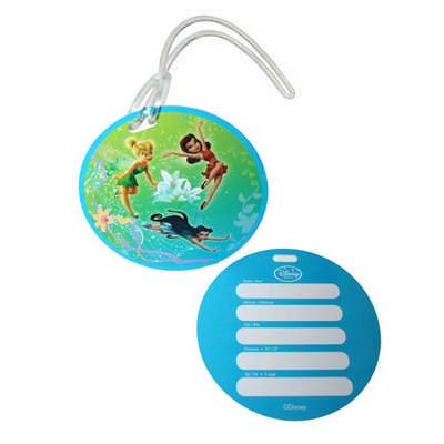 Hard Plastic Luggage Tag (PLAS-202_RNG_DEC)