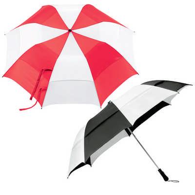 Vented Folding Umbrella (SB1002_RNG_DEC)
