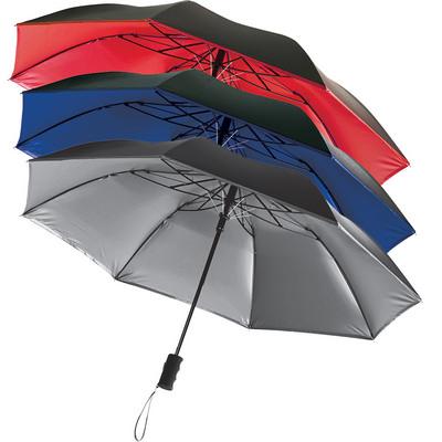 Auto Open 42 Folding Color Splash Umbrella (SB1005BL_RNG_DEC)