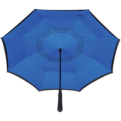 48 inch Auto Close Inversion Umbrella - Royal Blue (SB1007RYL_RNG_DEC)
