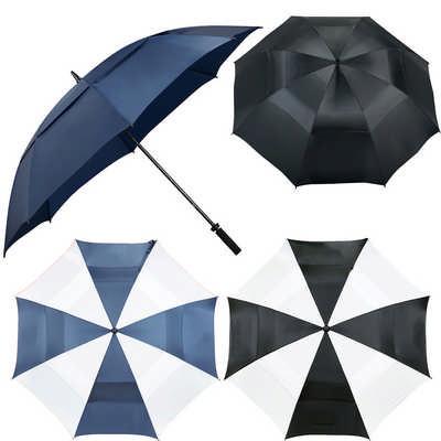 Course 62 inch Vented Golf Umbrella (SB1010_RNG_DEC)