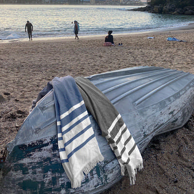 Trekk Turkish Beach Towel (TK1039_RNG_DEC)
