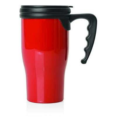Double Wall Plastic Thermo Travel Mug (M229C_GLOBAL)