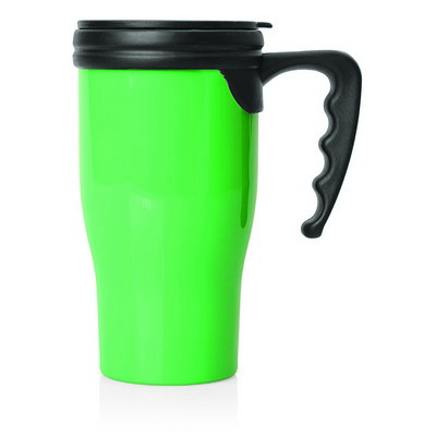 Double Wall Plastic Thermo Travel Mug (M229F_GLOBAL)