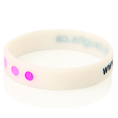 Debossed Colour Filled Silicone Wristband (WB04_GLOBAL)