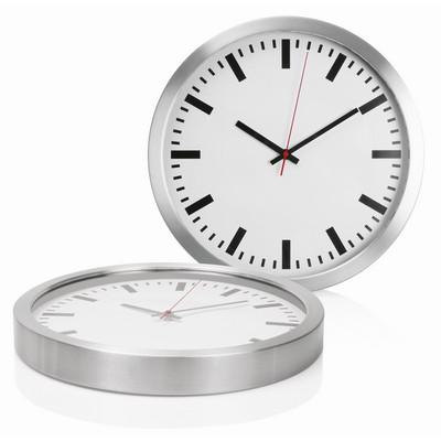 Wall Clock 40cm Aluminium - (C472_GLOBAL)