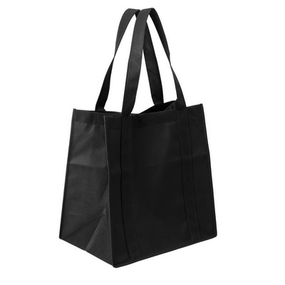 Bag Non Woven Shopping (NWB10-BK_GLOBAL)