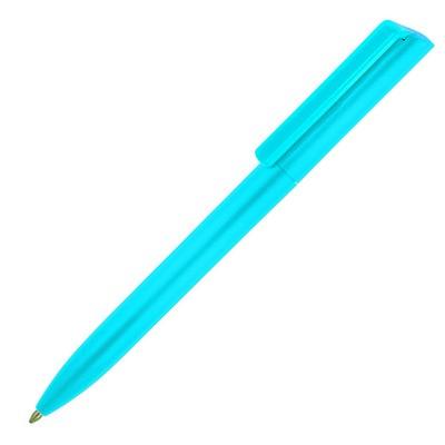 Plastic Pen Ballpoint Colours Minimalist (A104E_GL_DEC)