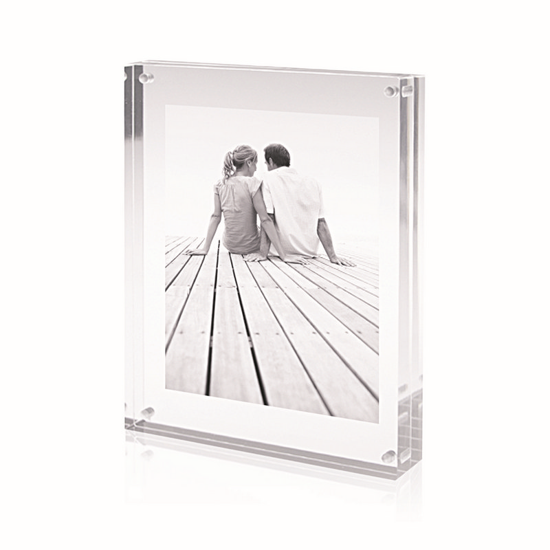Photo Frame Acrylic Large Rofe Design (AC114_GL_DEC)