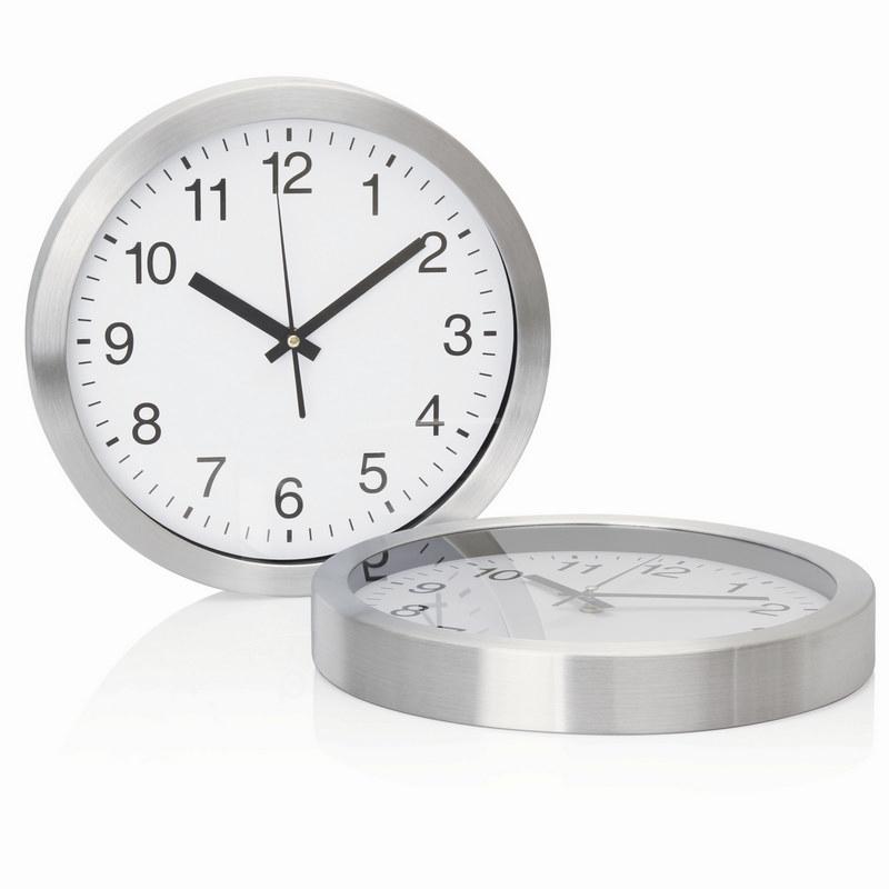30cm Aluminium Wall Clock (C308_GL_DEC)