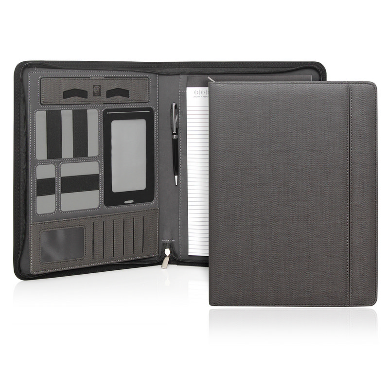 Milano Executive Tech A4 Compendium wZipper (C478_GL_DEC)